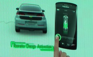 Chevy Volt on Your iPhone