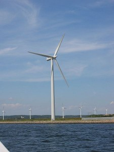 A Puny Wind Turbine, Compared to the New the 10 MW Unit the Norwegians are Planning