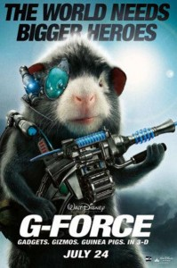 Good Eatin' of this G-Force (the Movie) Guinea Pig