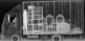 Backscatter X-Ray of Truck
